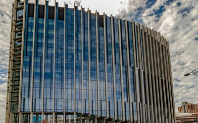 Australian Glass Install – Health Innovation Building Project