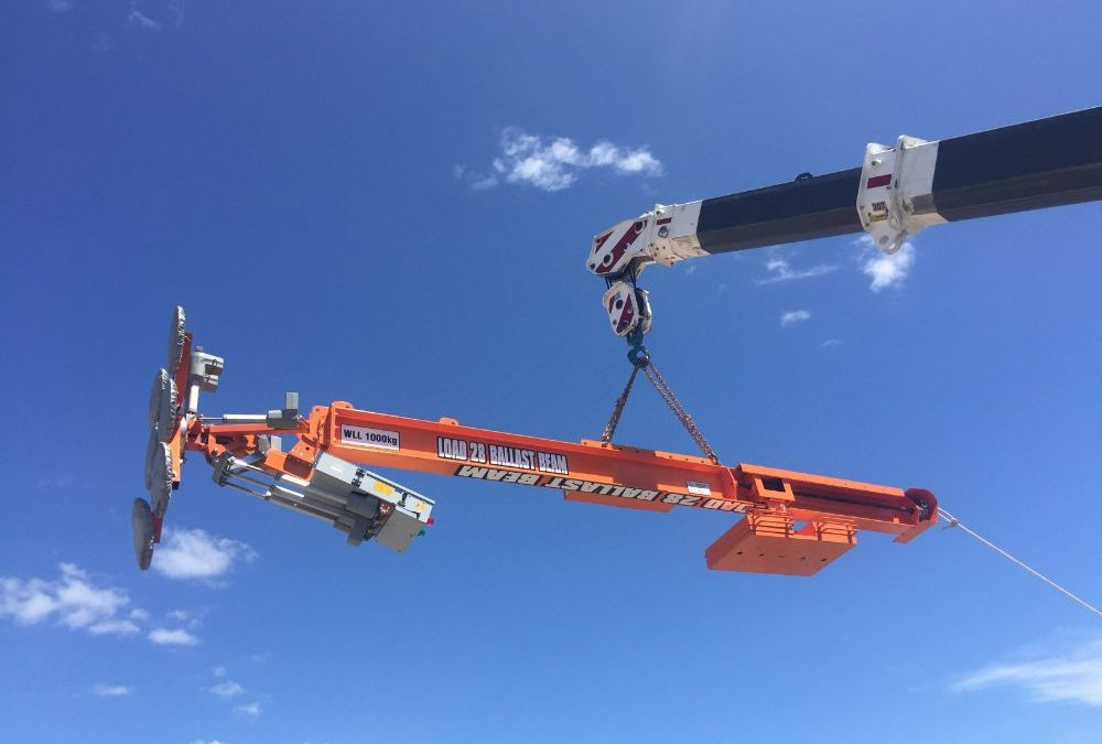 Adelaide Convention Centre Ballast Beam Project
