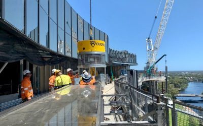 Trial Of Robo Rigger At SkyCity Adelaide