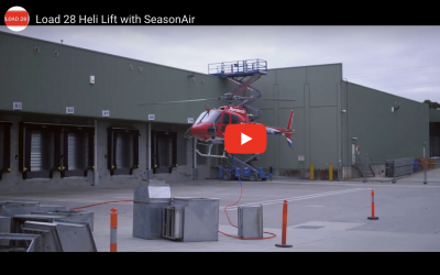 Load 28 & SeasonAir partner for Heli Lift Install