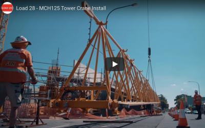 Tower Crane Install
